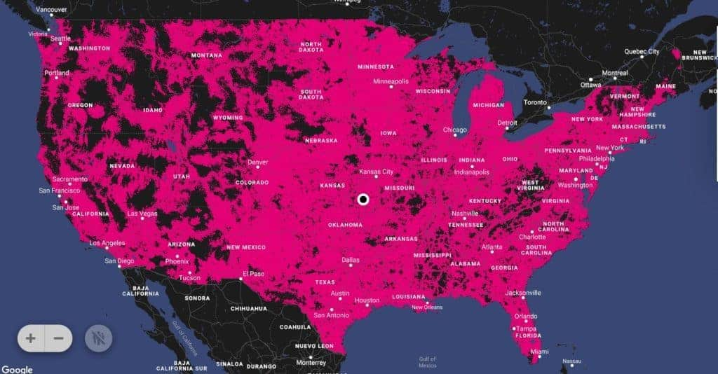 T-Mobile vs Verizon in 2019 - Compare Coverage and Plans on go mobile coverage map, go phone user guide, dart phone coverage map, go phone phones,